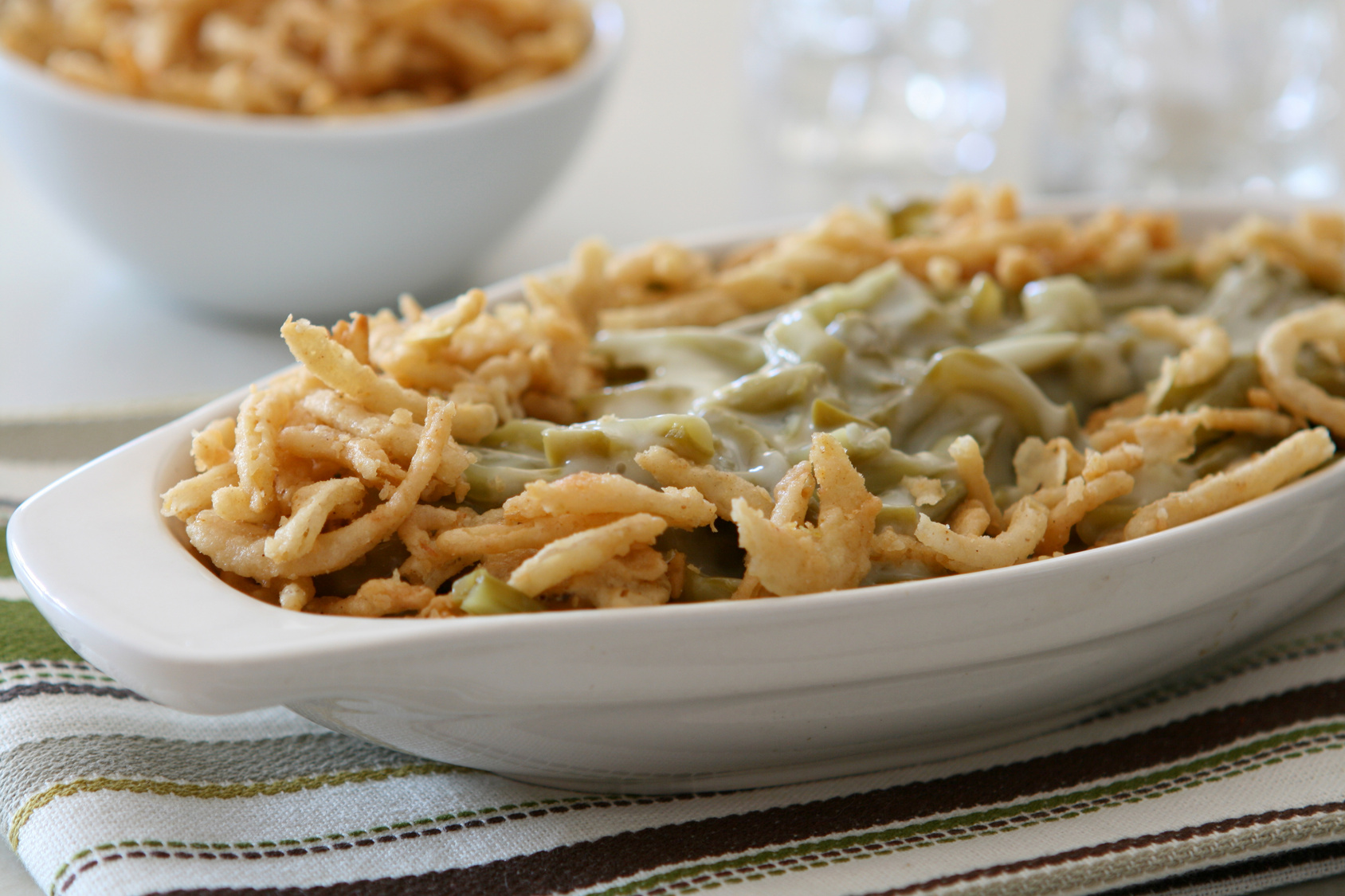 **Slow Cooker Green Bean Casserole