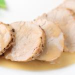 Slow Cooker Maple Brine Pork Loin * *