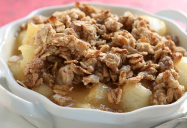 **Slow Cooker Apple Crisp