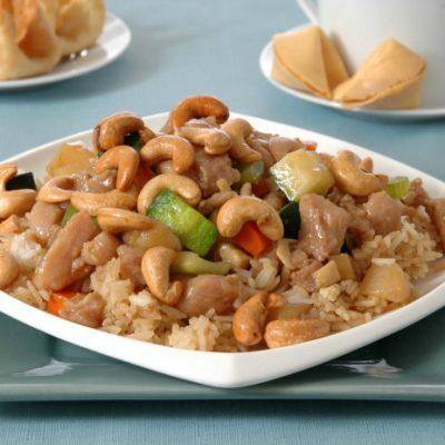 **Slow Cooker Paleo Cashew Chicken