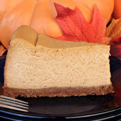 Slow Cooker Pumpkin Cheesecake **