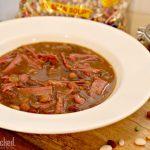 Slow Cooker 15 Bean Corned Beef Stew