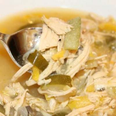 Slow Cooker Harvest Chicken Soup
