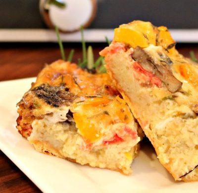 *** Slow Cooker Veggie Breakfast Casserole
