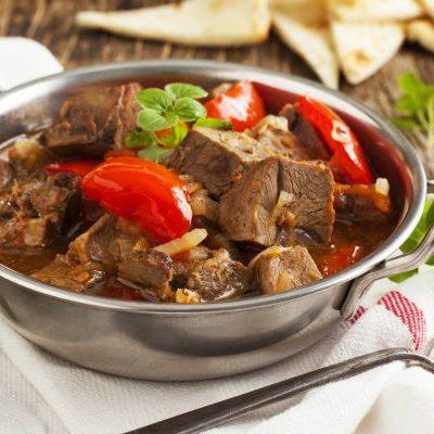 ** Slow Cooker Easy Lamb Stew