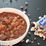 Slow Cooker 15 Bean Tomato <span class=