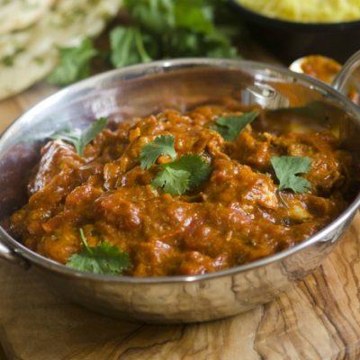 **Slow Cooker Indian Chicken Balti