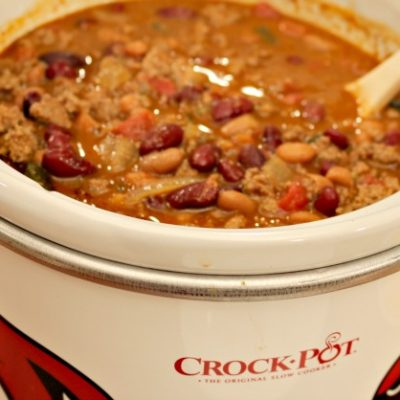 ** Slow Cooker Denver Bison Chili NEW WEB