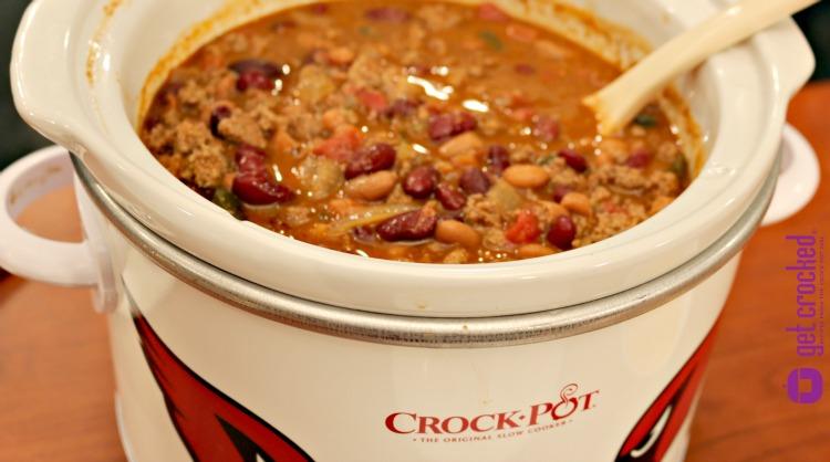 ** Slow Cooker Denver Bison Chili NEW WEB