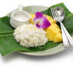 ** Slow Cooker Coconut Rice Pudding with Mango